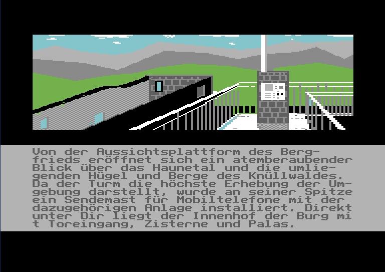 DAS CAMP: Screenshot aus dem Spiel (Turm)